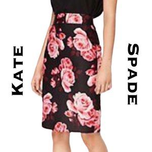 Kate Spade Rosa Pencil Skirt NWT Size 00